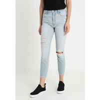 Abercrombie & Fitch SIMONE Jeansy Skinny Fit light destroy A0F21N014
