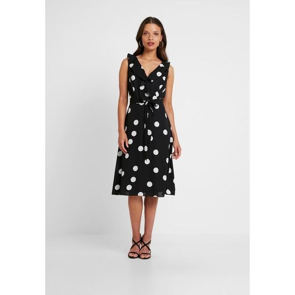 Wallis Petite BIG SPOT DRESS Sukienka letnia black WP021C069