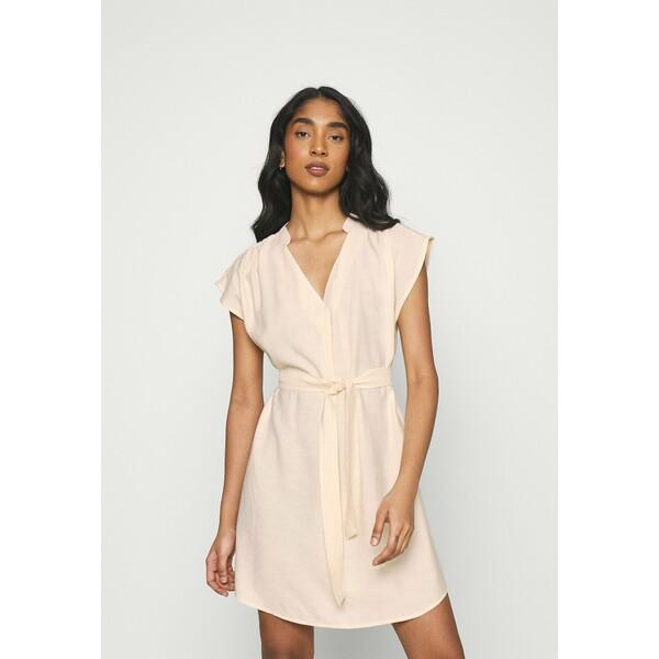 ONLY ONLJOSEY V NECK DRESS Sukienka letnia ecru ON321C29S