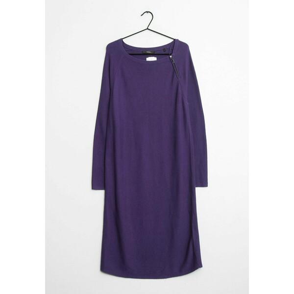 Bonita Sukienka z dżerseju purple ZIR009K4Q