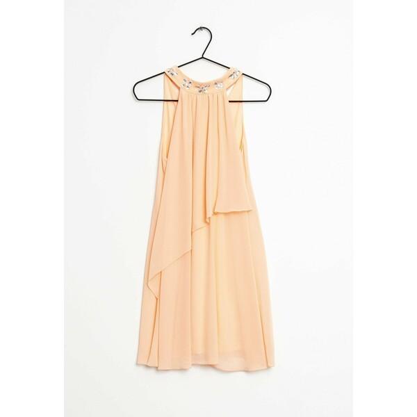 Lipsy Sukienka letnia orange ZIR0034KJ