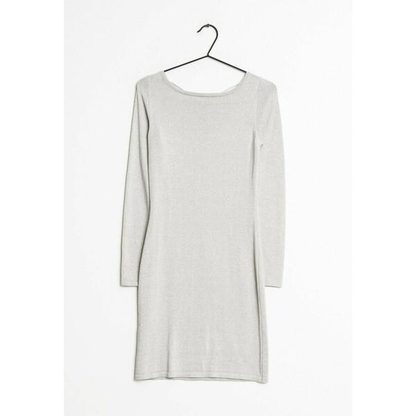 Mango Sukienka letnia silver ZIR00518B