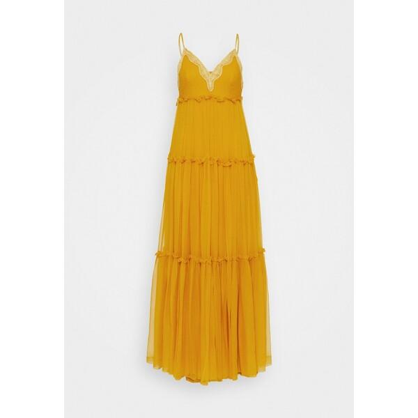 Alberta Ferretti DRESS Długa sukienka orange AF321C01T