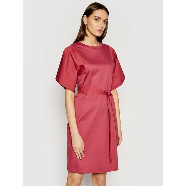 Weekend Max Mara Sukienka codzienna Lari 56210211 Czerwony Regular Fit