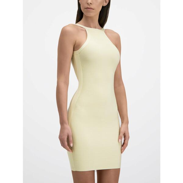 Marciano Guess Sukienka koktajlowa 92G720 5012Z Beżowy Slim Fit