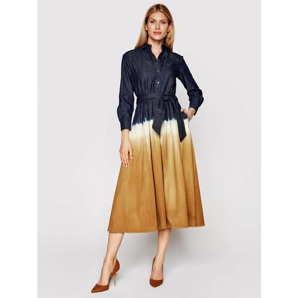 Weekend Max Mara Sukienka jeansowa Dorina 52210917 Kolorowy Regular Fit