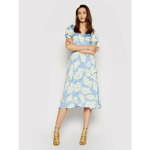 DKNY Sukienka letnia DD1BT22A Niebieski Regular Fit