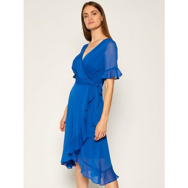 DKNY Sukienka koktajlowa DD0CI062 Niebieski Regular Fit