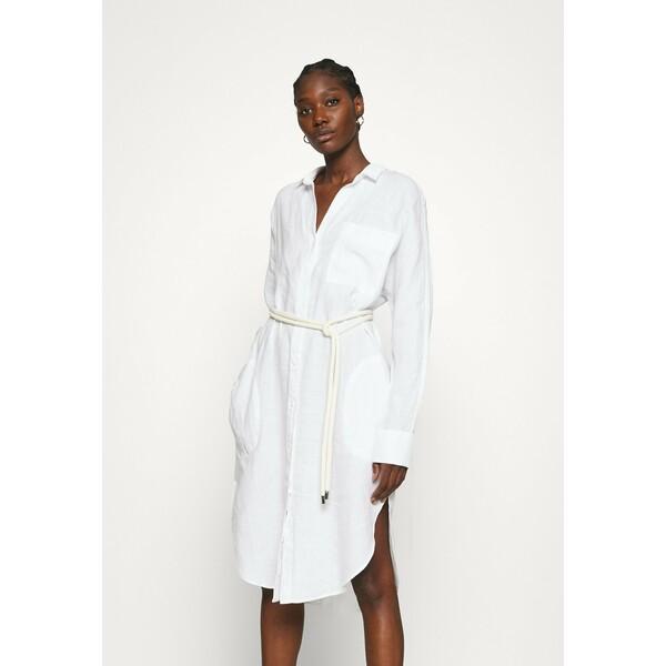 Replay DRESS Sukienka koszulowa optical white RE321C03Q