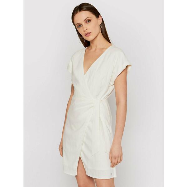Pepe Jeans Sukienka letnia Lolita PL952842 Biały Regular Fit