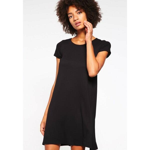ONLY ONLBERA BACK DRESS Sukienka z dżerseju black ON321C0GY