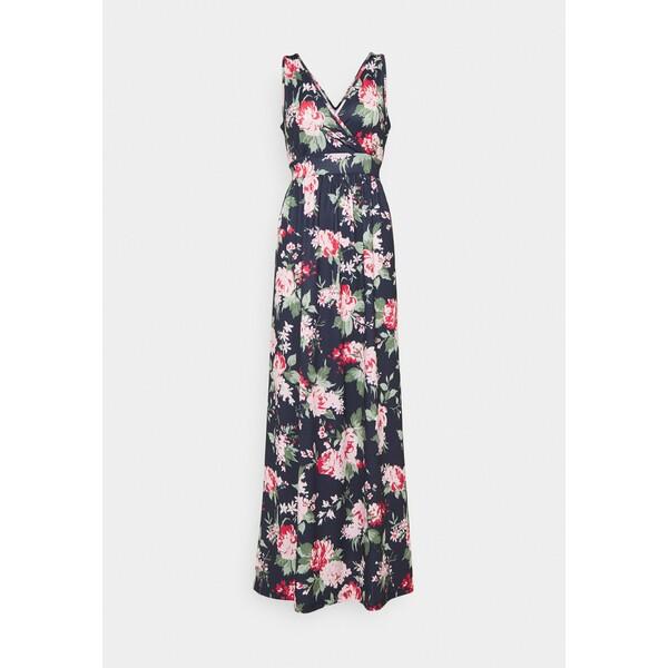 Anna Field Długa sukienka dark blue/pink AN621C1HO