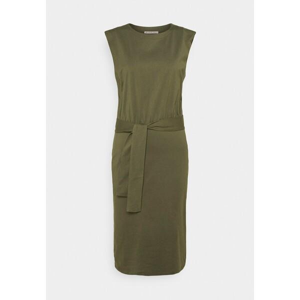 Anna Field Sukienka z dżerseju green AN621C1NL