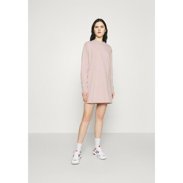 Nike Sportswear DRESS Sukienka z dżerseju champagne/white NI121C02B