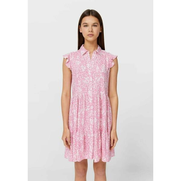 Stradivarius Sukienka koszulowa light pink STH21C0IE