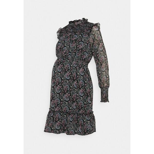 ONLY OLMASTA SMOCK DRESS Sukienka letnia black ON329F00Q