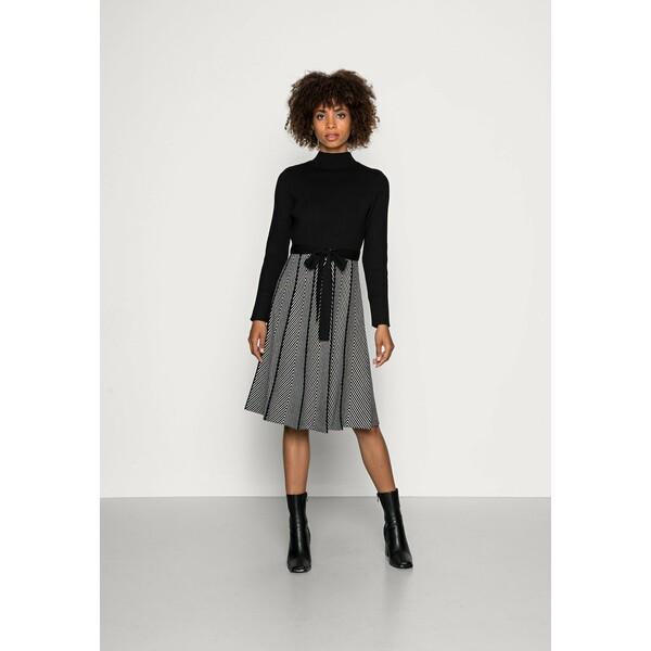 Derhy QUENOTTE Sukienka dzianinowa noir RD521C0L5