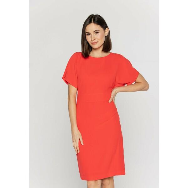 Bialcon Sukienka etui koralowy B0H21C011