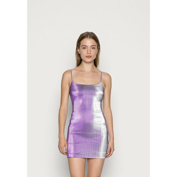 Bec & Bridge MAGENTA MAGIC MINI DRESS Sukienka koktajlowa ultra violet BEU21C03A