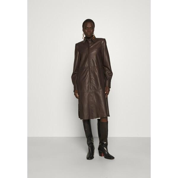 RIANI Sukienka koszulowa onyx brown RIJ21G010
