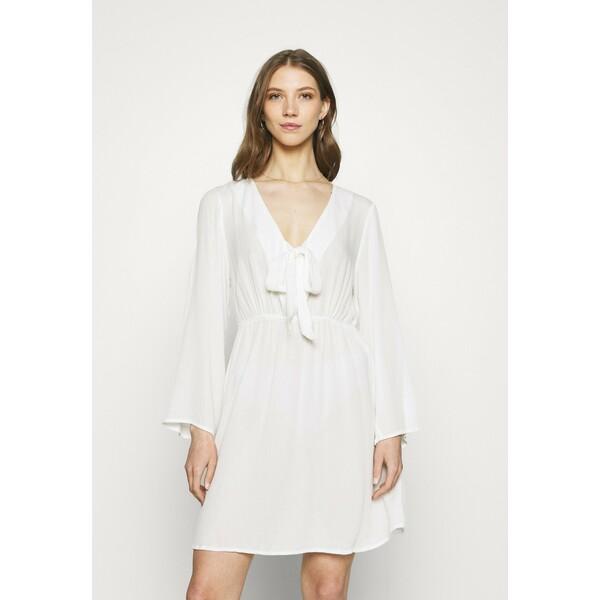 Vila VIMESA LULU SHORT DRESS Sukienka letnia snow white V1021C2H1