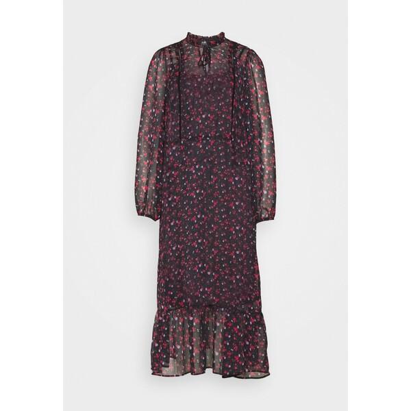Wallis FORGET ME NOT MIDI DRESS Sukienka letnia black WL521C0VV