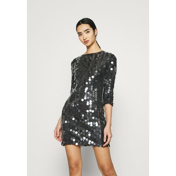 U Collection by Forever Unique Sukienka koktajlowa black UC421C03W