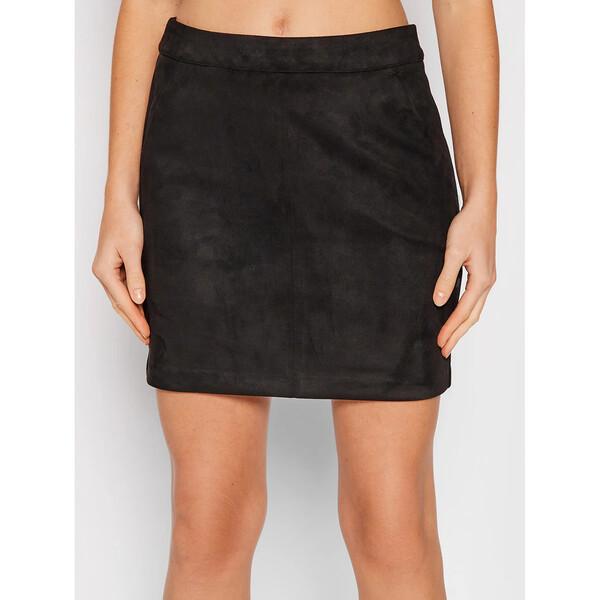 Vero Moda Spódnica mini Donnadina 10210430 Czarny Regular Fit