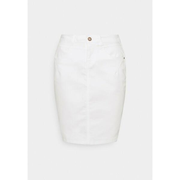 Cream AMALIE SKIRT Spódnica ołówkowa snow white CR221B03N
