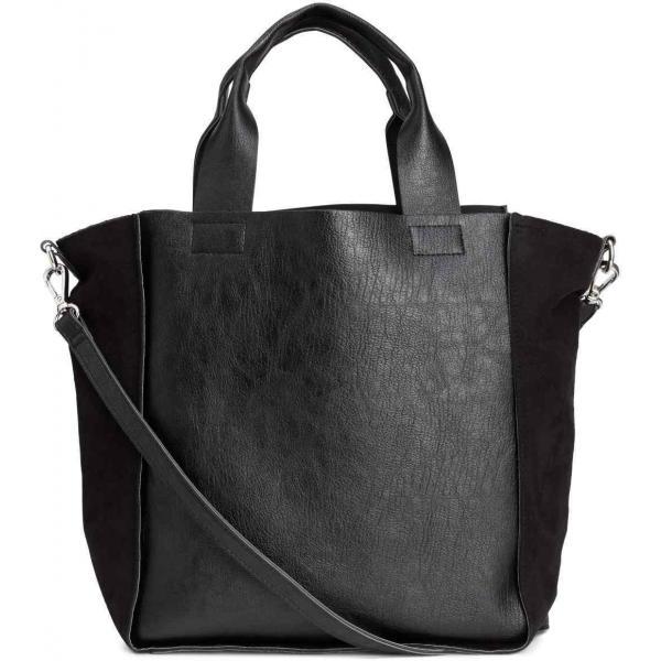 2bb681d546050 H&M Mała torba shopper 0360298001 Czarny - UbierzmySie.pl