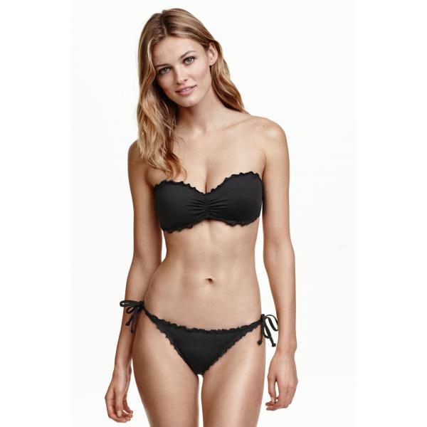 H&M Tanga bikini bottoms 0376101001 Black