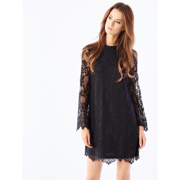 1fc1646b626632 Mohito Koronkowa sukienka z rozszerzanym rękawem PU988-99X ...