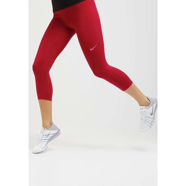 gorące produkty niska cena znana marka Nike Performance PRO DRY Legginsy noble red/hyper pink ...