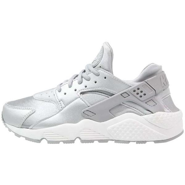 41c9f1a09ab75 Nike Sportswear AIR HUARACHE RUN SE Tenisówki i Trampki metallic silver/matte  silver/pure platinum/summit white NI111S060 - UbierzmySie.pl