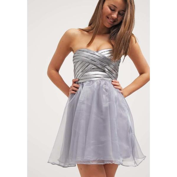f7c841bb00 Lipsy ARIANA GRANDE FOR LIPSY Sukienka koktajlowa silver LI721C0DD ...