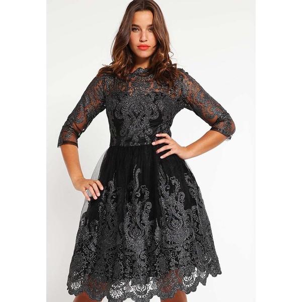 98fa40f30396 Chi Chi London Curvy LOTTIE Sukienka koktajlowa black CV721C00K ...