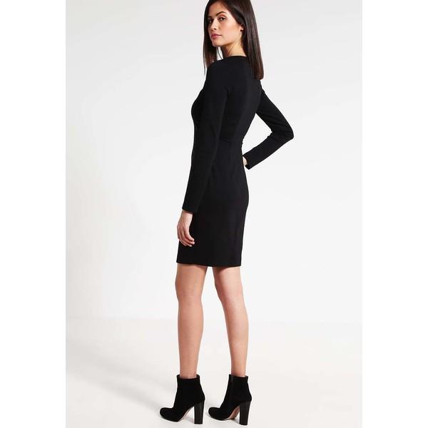8a95e5169cd6 Versace Jeans Sukienka etui black 1VJ21C02O - UbierzmySie.pl
