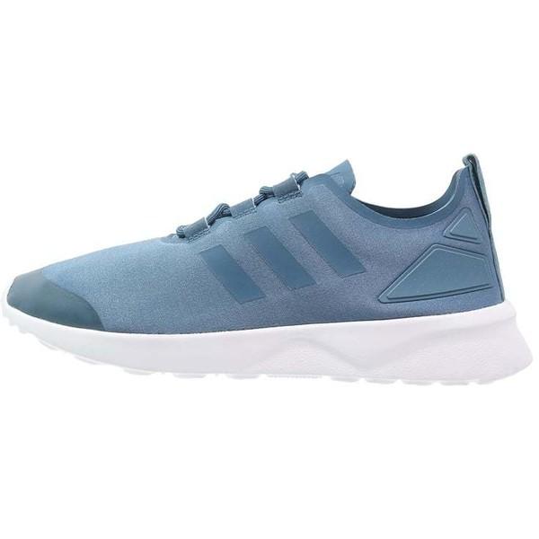 adidas Originals ZX FLUX VERVE Tenisówki i Trampki blanch
