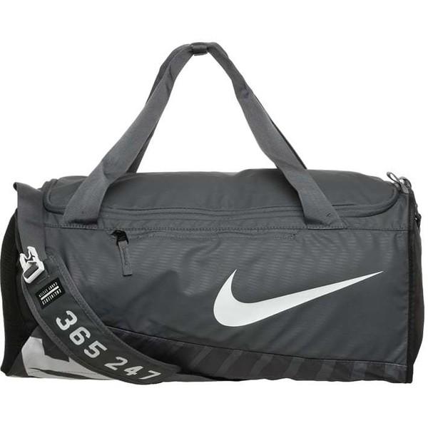 c27bf6d81b61c Nike Performance ALPHA M Torba sportowa flint grey black white N1244E06K