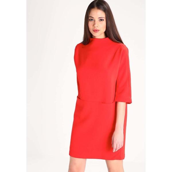 Selected Femme SFLAVA Sukienka letnia flame scarlet SE521C0CH