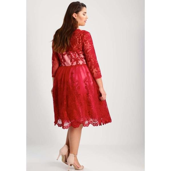 31d1eed4361e Chi Chi London Curvy AVIANA Sukienka koktajlowa red CV721C00S. (C) zalando.pl.  (C) zalando.pl