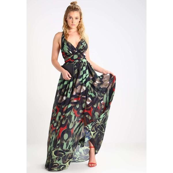 1b2ac8618eacf MARCIANO GUESS Długa sukienka multicolour 2GU21C03K - MojeSukienki.pl