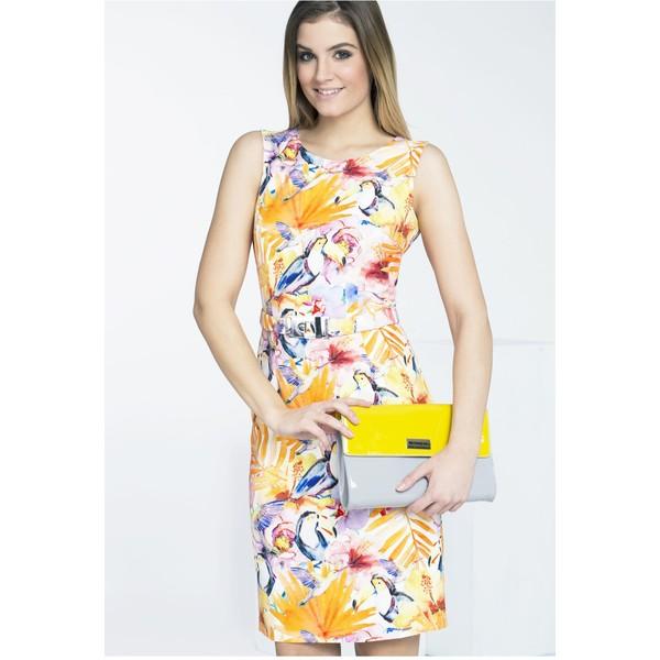 43de0da2c8 Monnari Kolorowa sukienka na lato SUKPOL0-16L-DRE1770-K003D601-R36 ...
