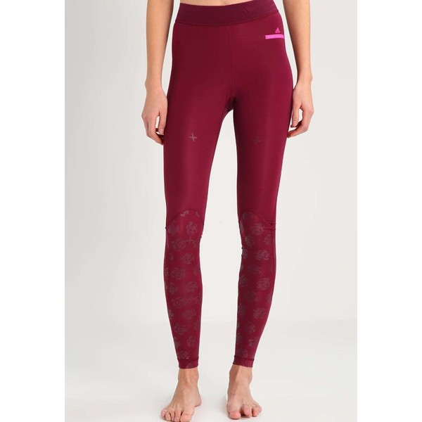 adidas by Stella McCartney TRAIN RECVERY Legginsy cherry wood AD541E0GA