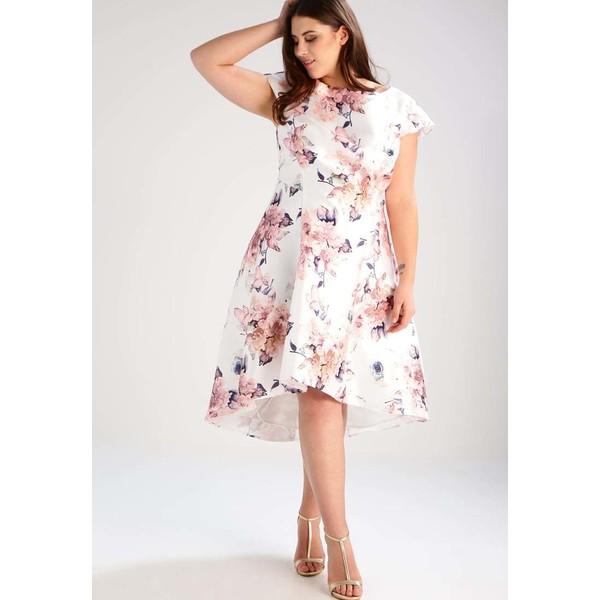 a5b2ce7159b9 Chi Chi London Curvy ISLA Sukienka koktajlowa white CV721C01U ...