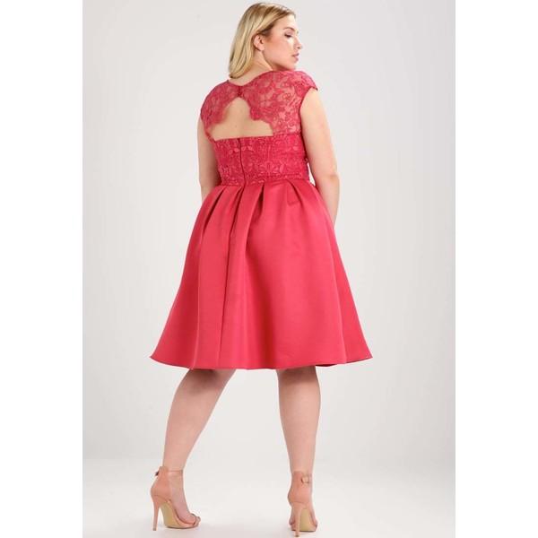 9baec747b8b6 Chi Chi London Curvy GILLIAN Sukienka koktajlowa red CV721C027. (C) zalando.pl.  (C) zalando.pl