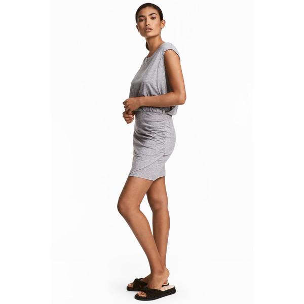 c59bd13ae1 H M MAMA Sukienka dla karmiącej 0442672002 Szary melanż ...
