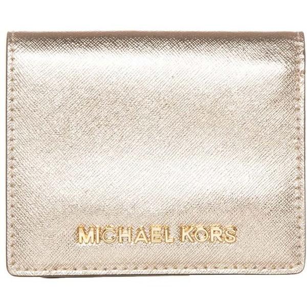 9a11b2683bcd4 MICHAEL Michael Kors Portfel pale gold MK151F00U - UbierzmySie.pl
