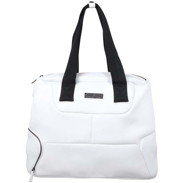 35ebb6fa4d0dd adidas by Stella McCartney TENNIS Torba sportowa white/gunmetal AD741N01D