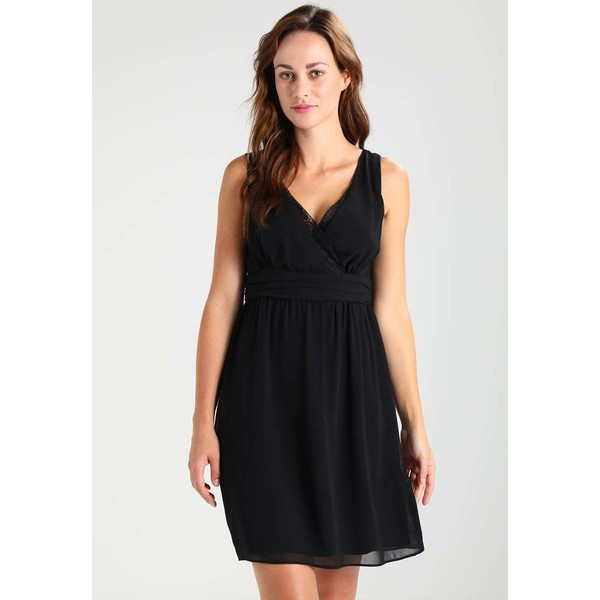 NAF NAF LARRY Sukienka koktajlowa noir NA521C0EU